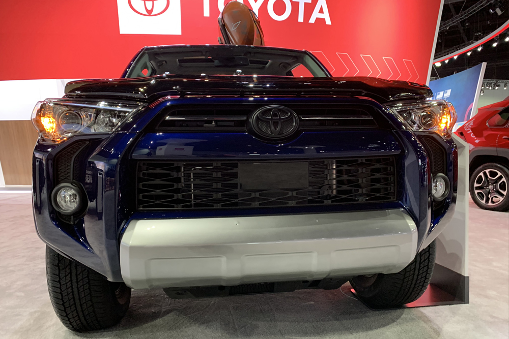 2020 4Runner TRO Pro at The LA Auto Show: First Glance and Overall Thoughts of the Gen 5 Tailout: Toyota Safety Sense (TSS)