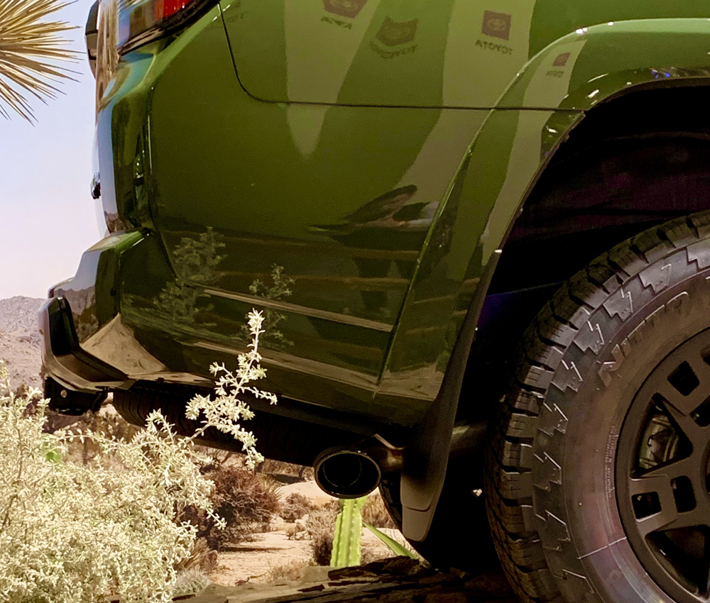 2020 4Runner TRO Pro at The LA Auto Show: First Glance and Overall Thoughts of the Gen 5 Tailout: Catback Exhaust