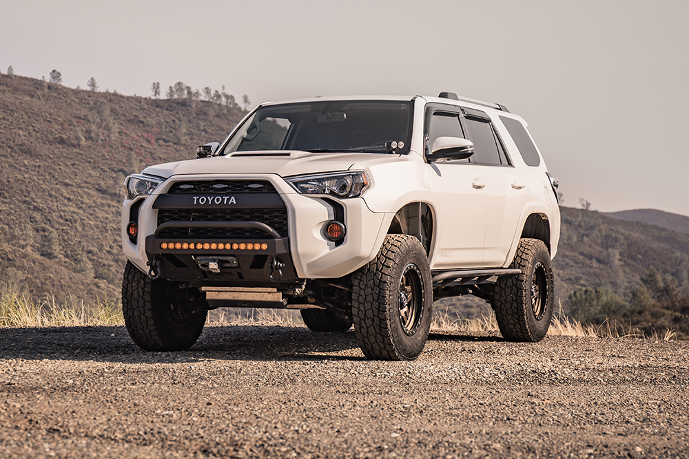 Lifted 4Runner with KDSS