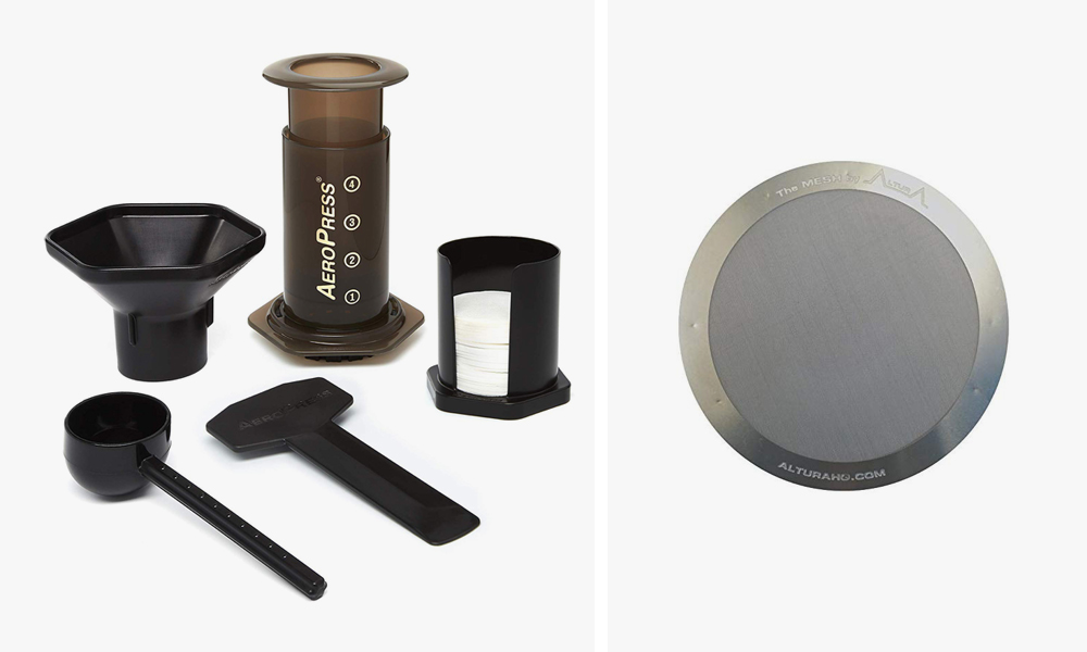Overland Gear & Car Camping Essentials For the 5th Gen 4Runner: AEROPRESS COFFEE AND ESPRESSO MAKER – QUICKLY MAKES DELICIOUS COFFEE