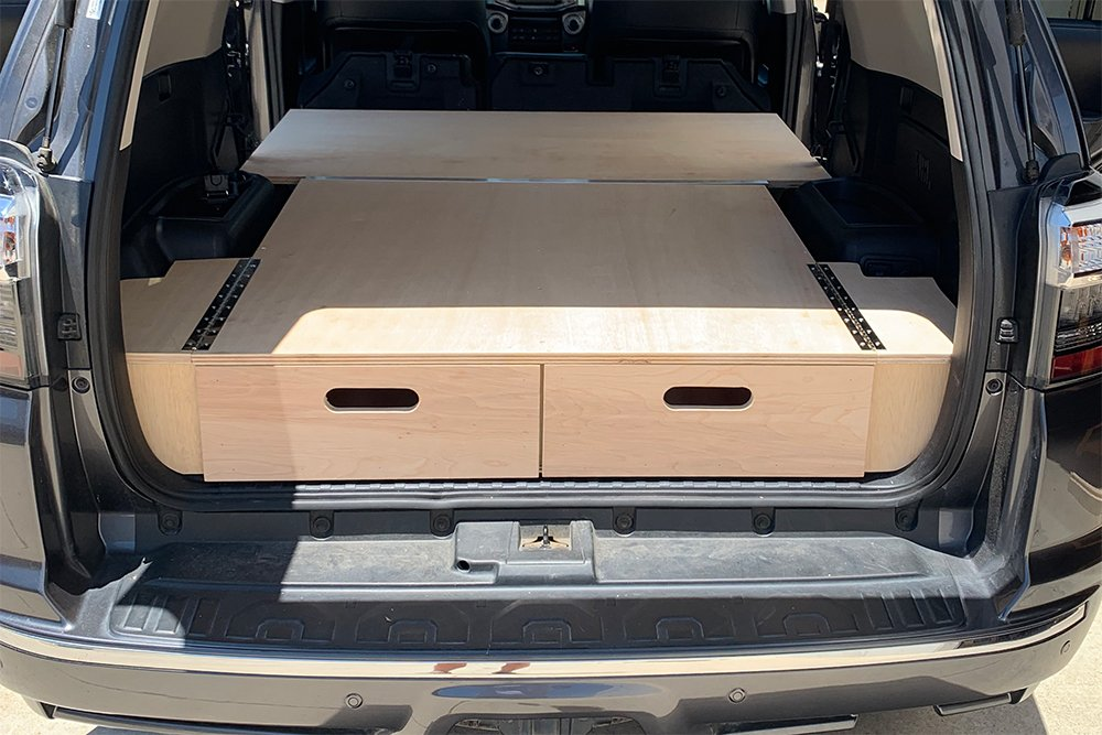 Dual Drawer Storage System DIY Plans for the 5th Gen 4Runner
