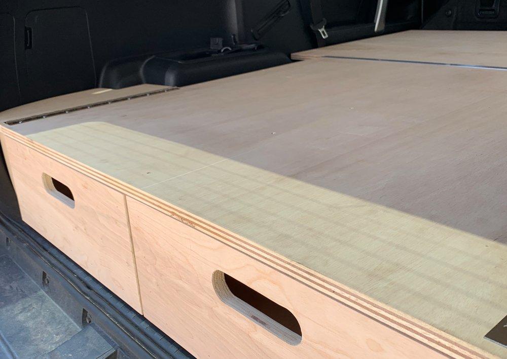 Drawer System + Sleeping Platform