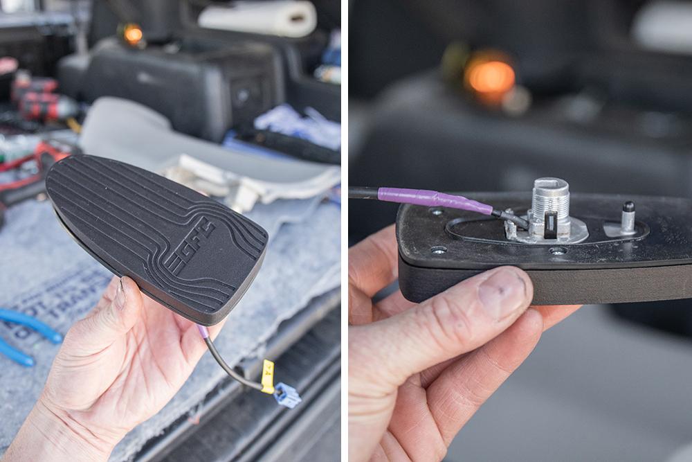 Assemble the3D printed shark-fin