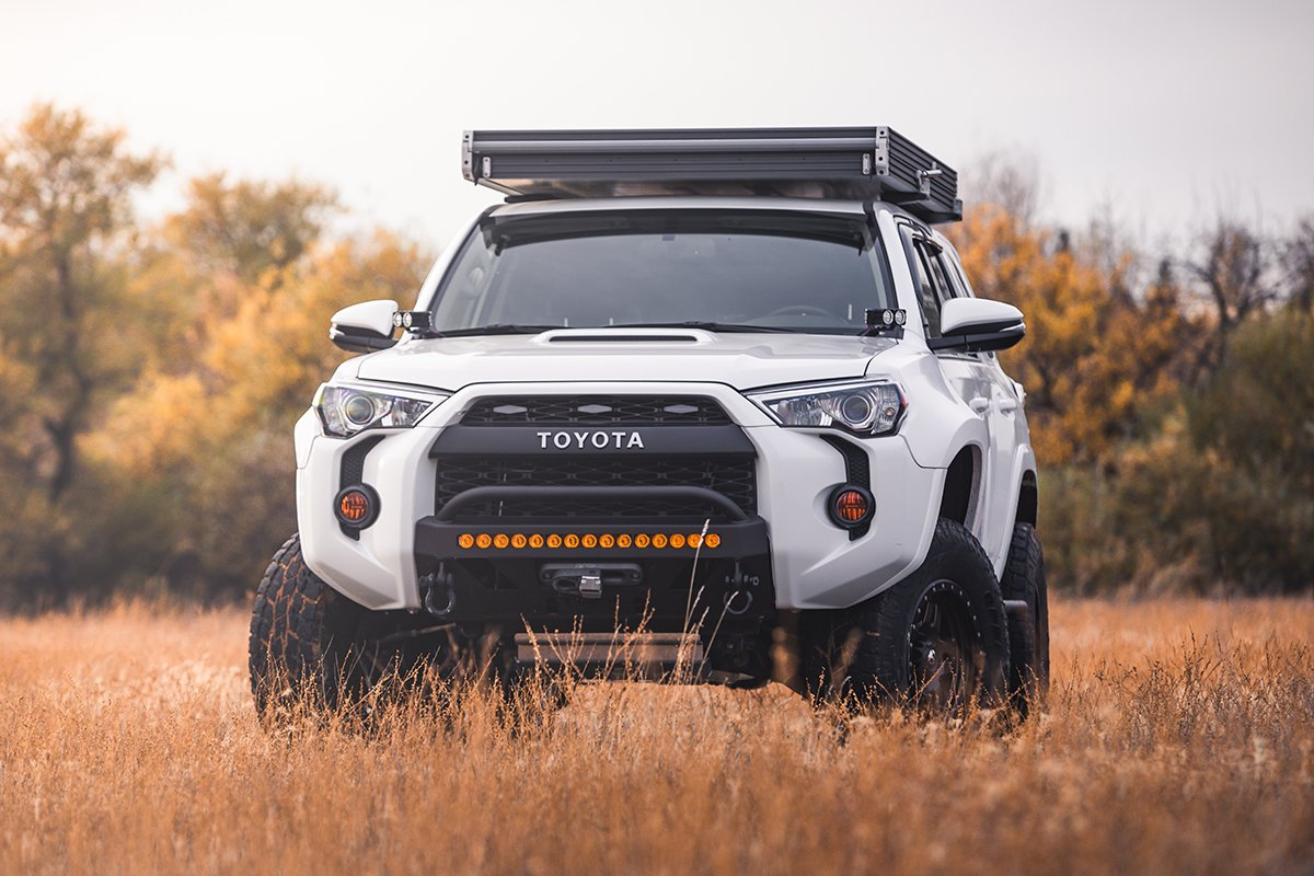 Low Profile and Thin Rooftop Tent