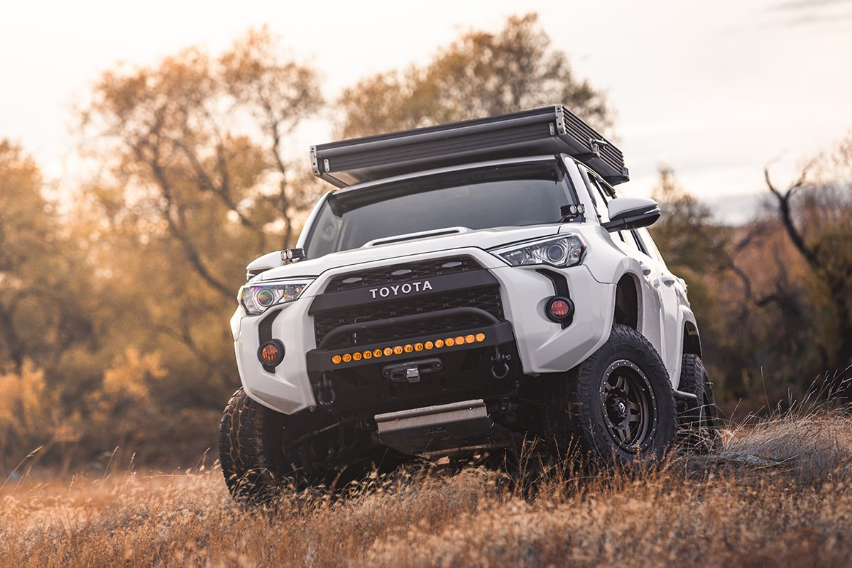 TRD Pro Grille with Letters