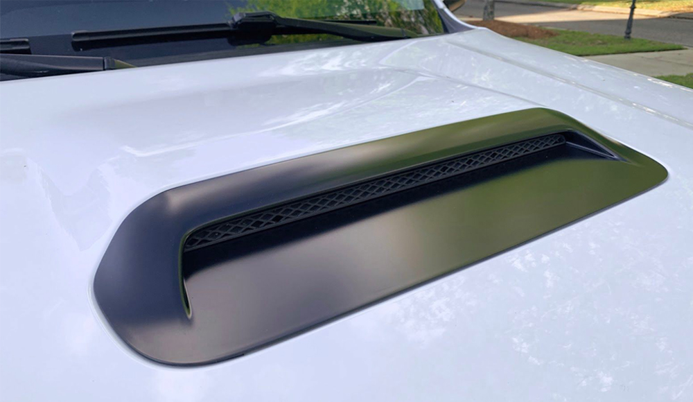 Blacked-Out Hood Scoop Step-By-Step DIY Install For the 5th Gen 4Runner: Step-By-Step Install: Step 7. Reinstall (New) Hood Scoop