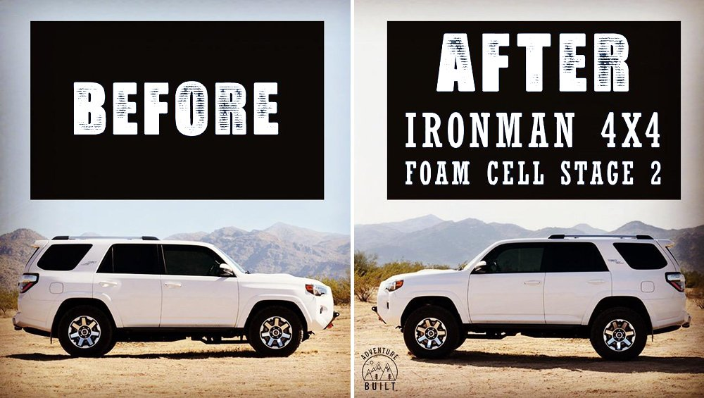 "Ironman 4X4 Foam Cell Pro 2"" Suspension Kit Stage 2: Step-By-Step Install + Review For the 5th Gen 4Runner"