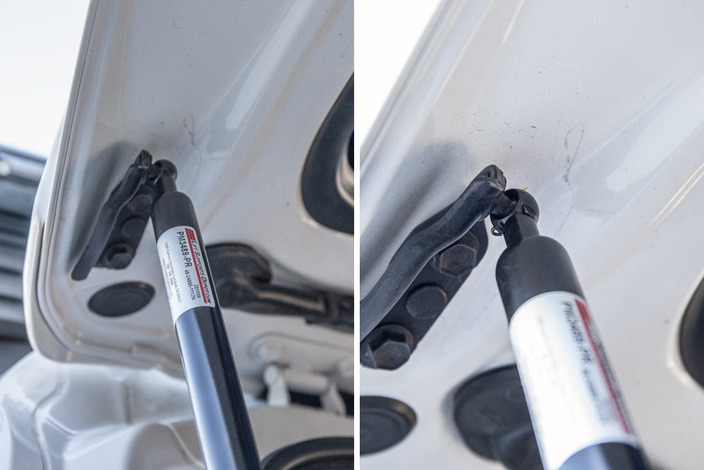 Connect and Install Liftgate Struts