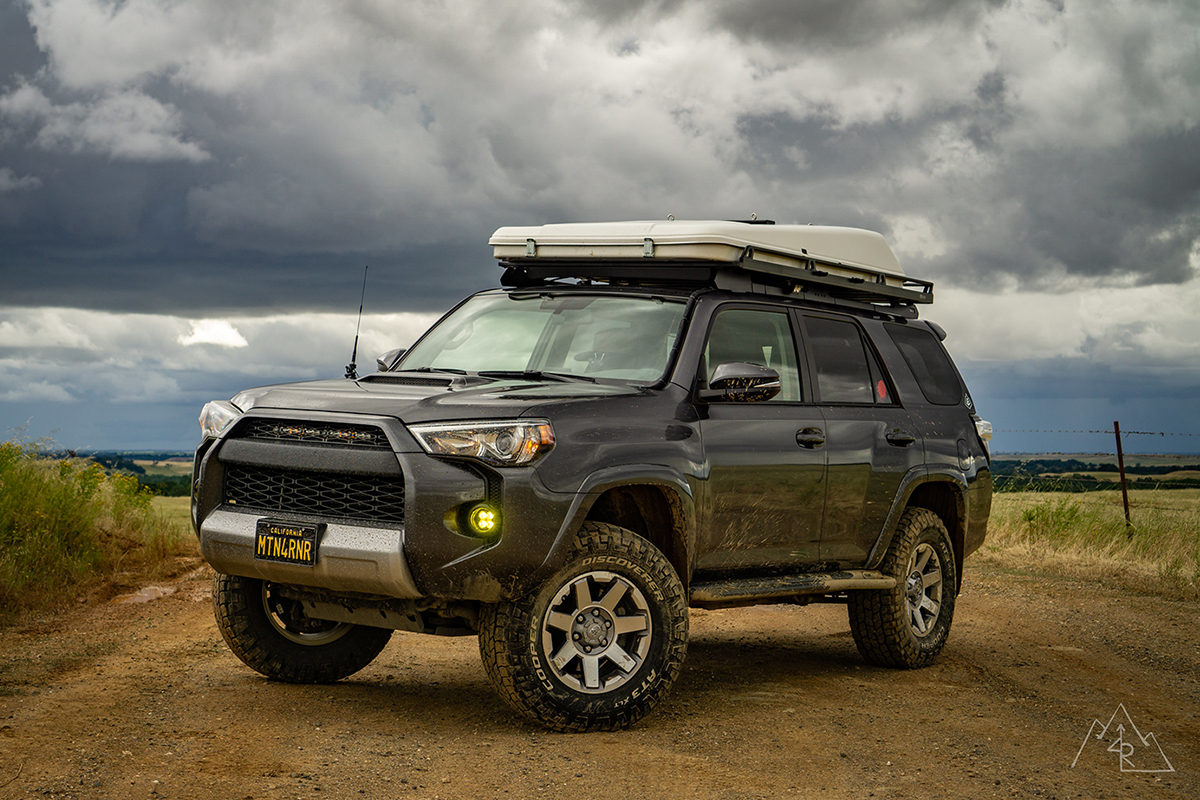Lifted MGM 4Runner with KING Shocks