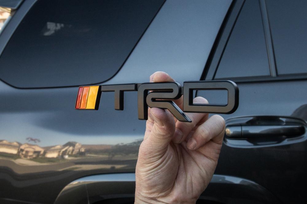 TRD Emblem 4Runner