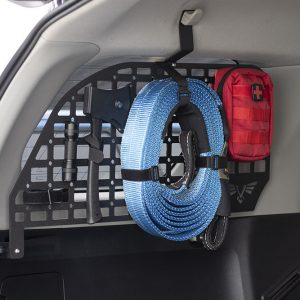 Victory 4x4 Rear Window Molle Panel Easy-To-Install Storage System For the 5th Gen 4Runner