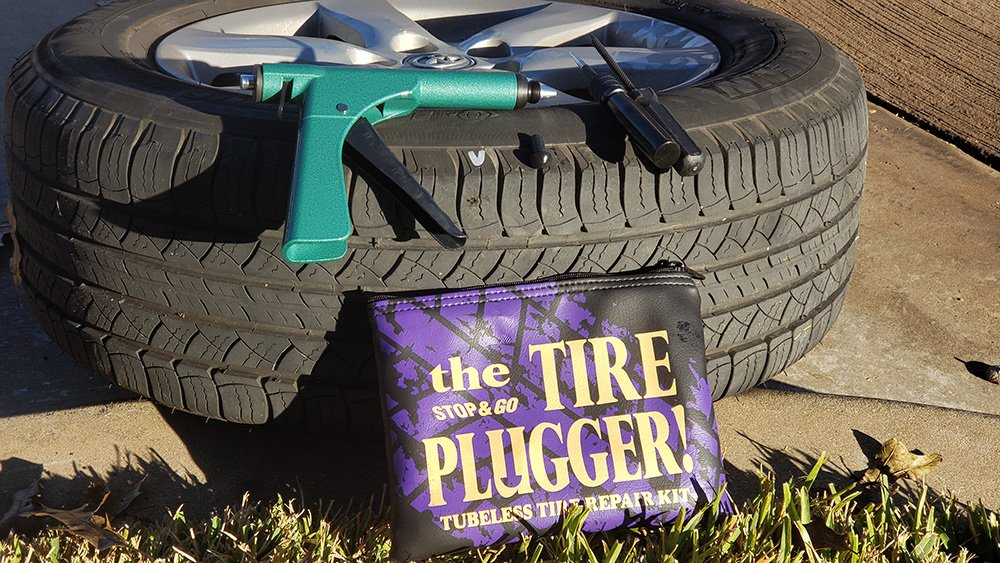 Stop & Go Tire Plugger Kit Review and How To Use It To Repair Tire Leaks