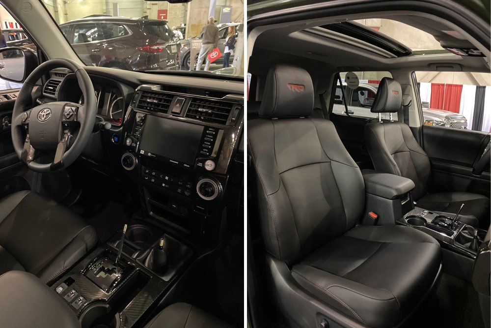 2020 4Runner Features & Upgrades Review at the Sacramento Auto Show: Interior Features