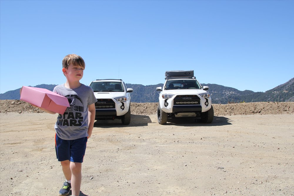 Camping with Kids: 5 Tips To Keep You Heading Out in the 4Runner for More: #1- START WITHDOUGHNUTS