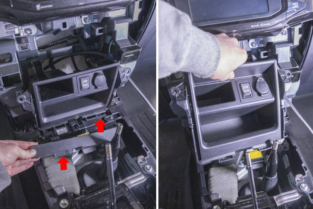 Remove Center Console and Dash Cubby 5th Gen 4Runner