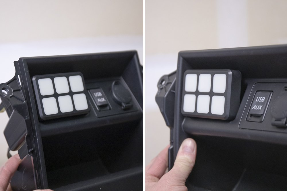 Position Switch Panel