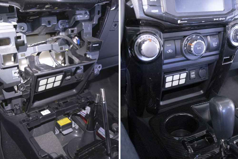 Re-Install Center Dash