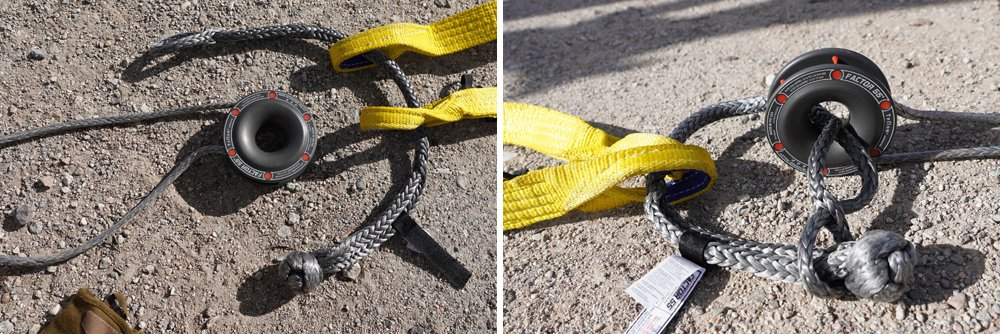 Factor 55 Rope Retention Pulley Recovery Gear Review For the 5th Gen 4Runner: Buba Rope Soft Shackle + Flatlink E Shackle