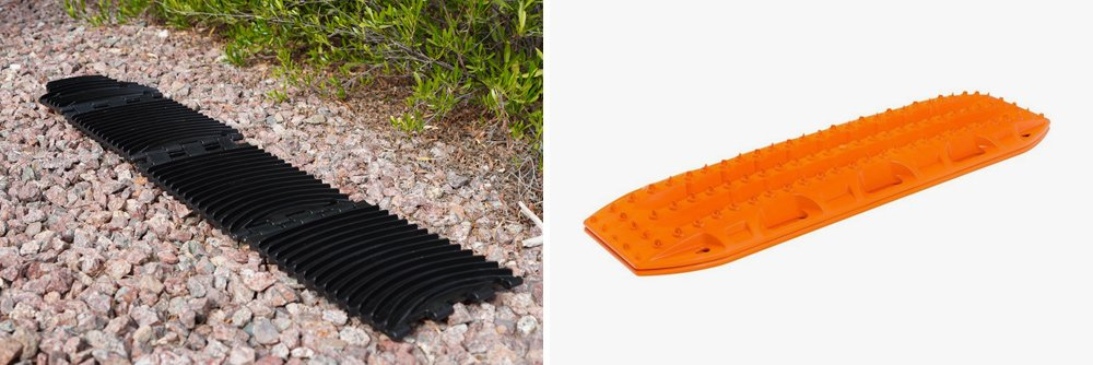 GoTreads Traction Mat with BROG Bag: GoTreads, Good Winter Recovery Gear Review For the 5th Gen 4Runner: GoTreads vs MaxTrax Pros