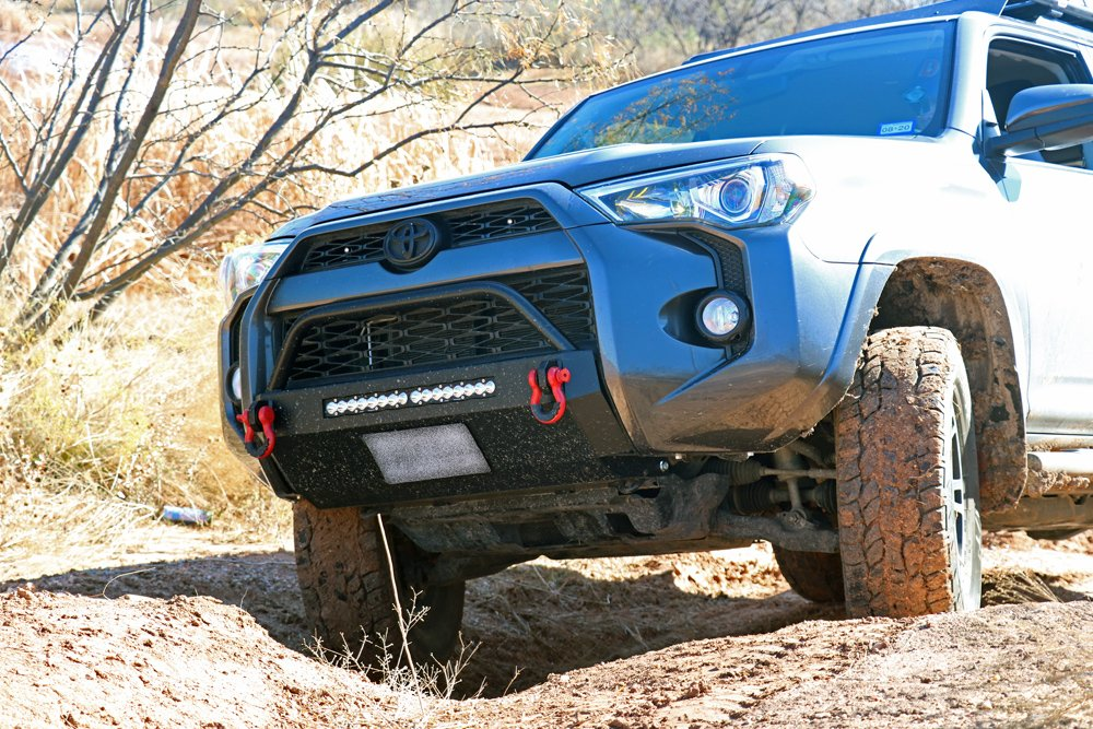 Southern Style Off-Road (SSO) Slimline Hybrid Winch Front Bumper step-By-Step Install For the 5th Gen 4Runner: Aluminum vs. Steel
