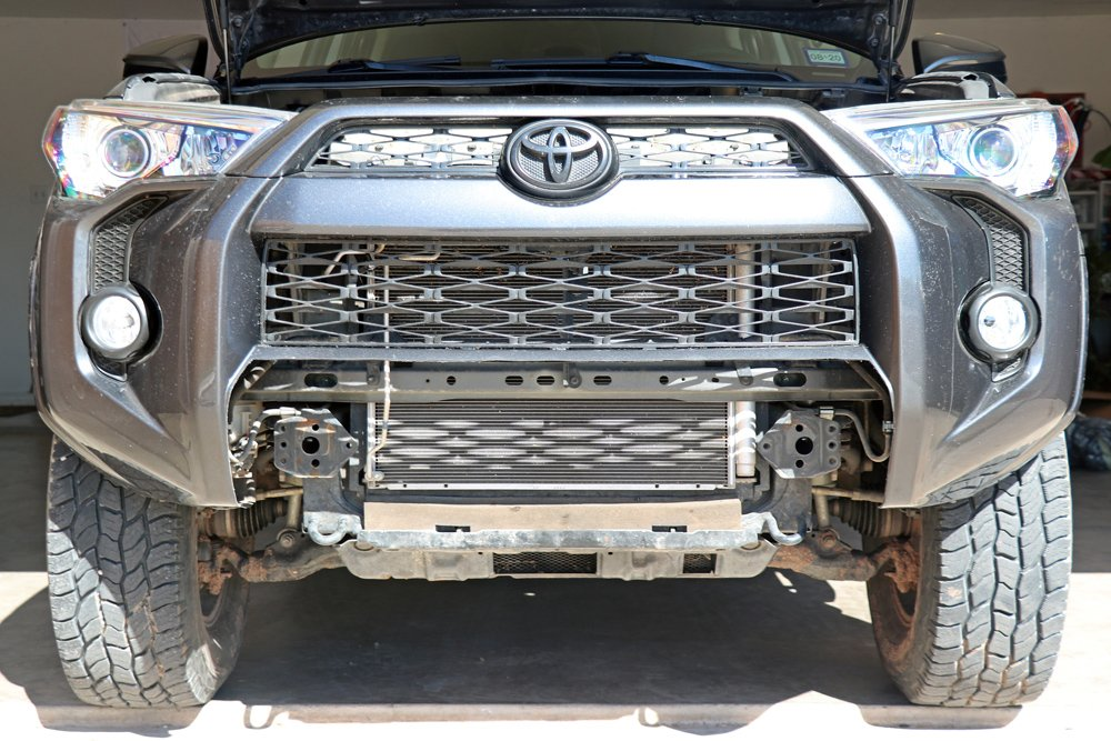 Southern Style Off-Road (SSO) Slimline Hybrid Winch Front Bumper step-By-Step Install For the 5th Gen 4Runner: Step 14. Reinstall Bumper Cover, Fog Lights + Fender Liners