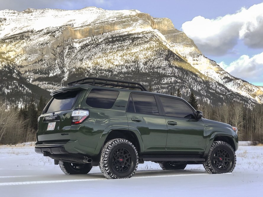 Army Green TRD Pro 4Runner