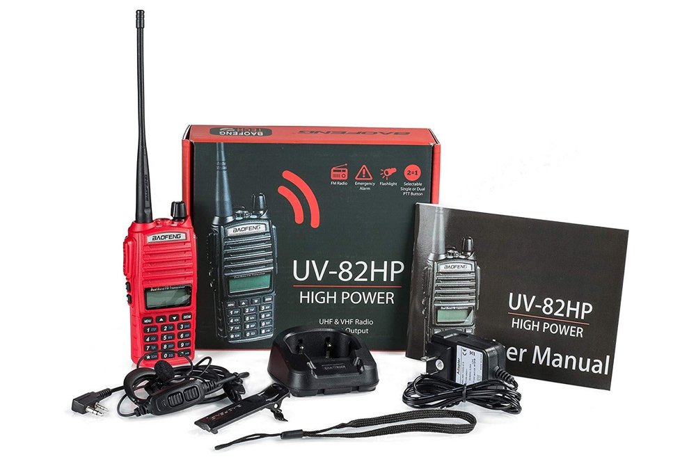 Winter Camping At Pismo Beach: 8 Essentials in Off-Road Accessories To Make This Your Favorite Time of Year to Camp:BaoFengUV-82HP High Power Dual Band Radio