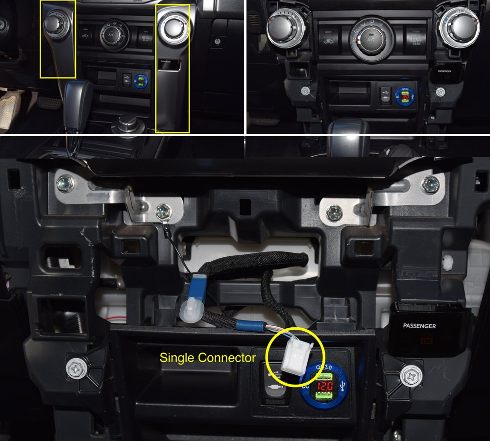 Wireless Charging System Setup + Step-By-Step Install For the 5th Gen 4Runner: Step 1. Remove Side Trim + AC Controls