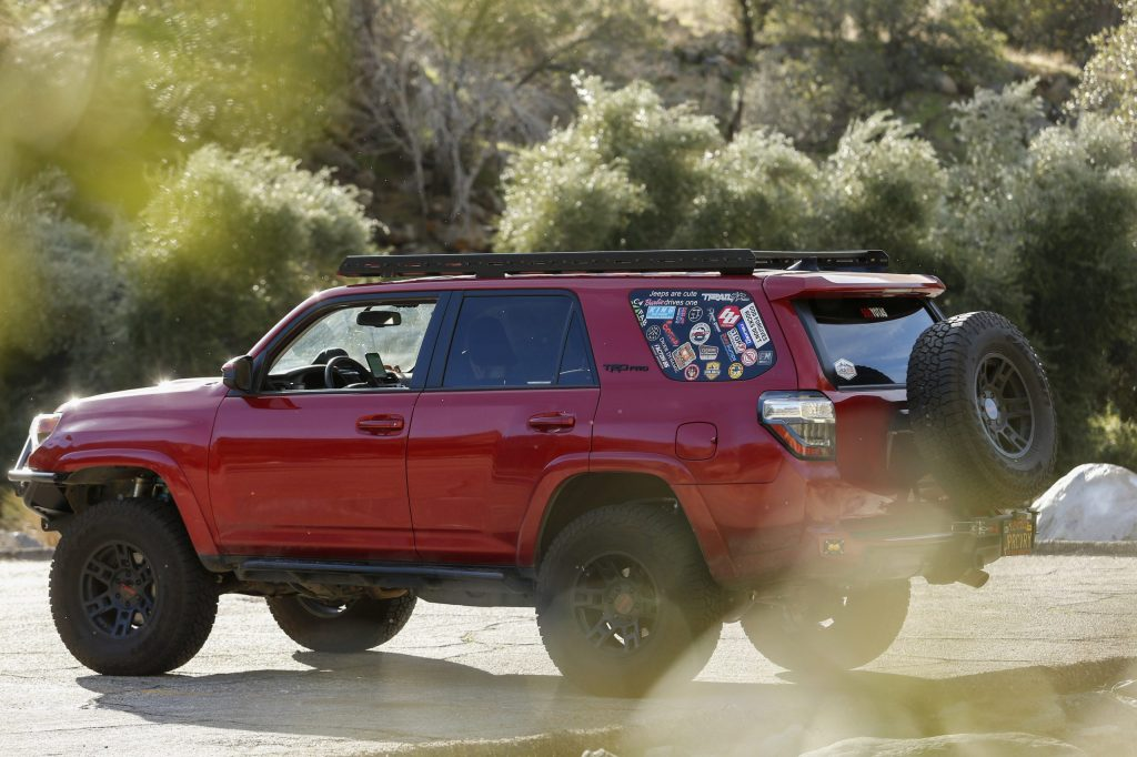 LFD Off Road Roof Rack on 4Runner