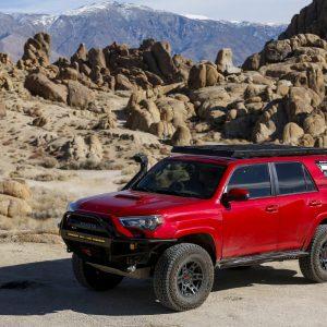 High Sierra Overland - LFD Roof Rack Review on 4Runner