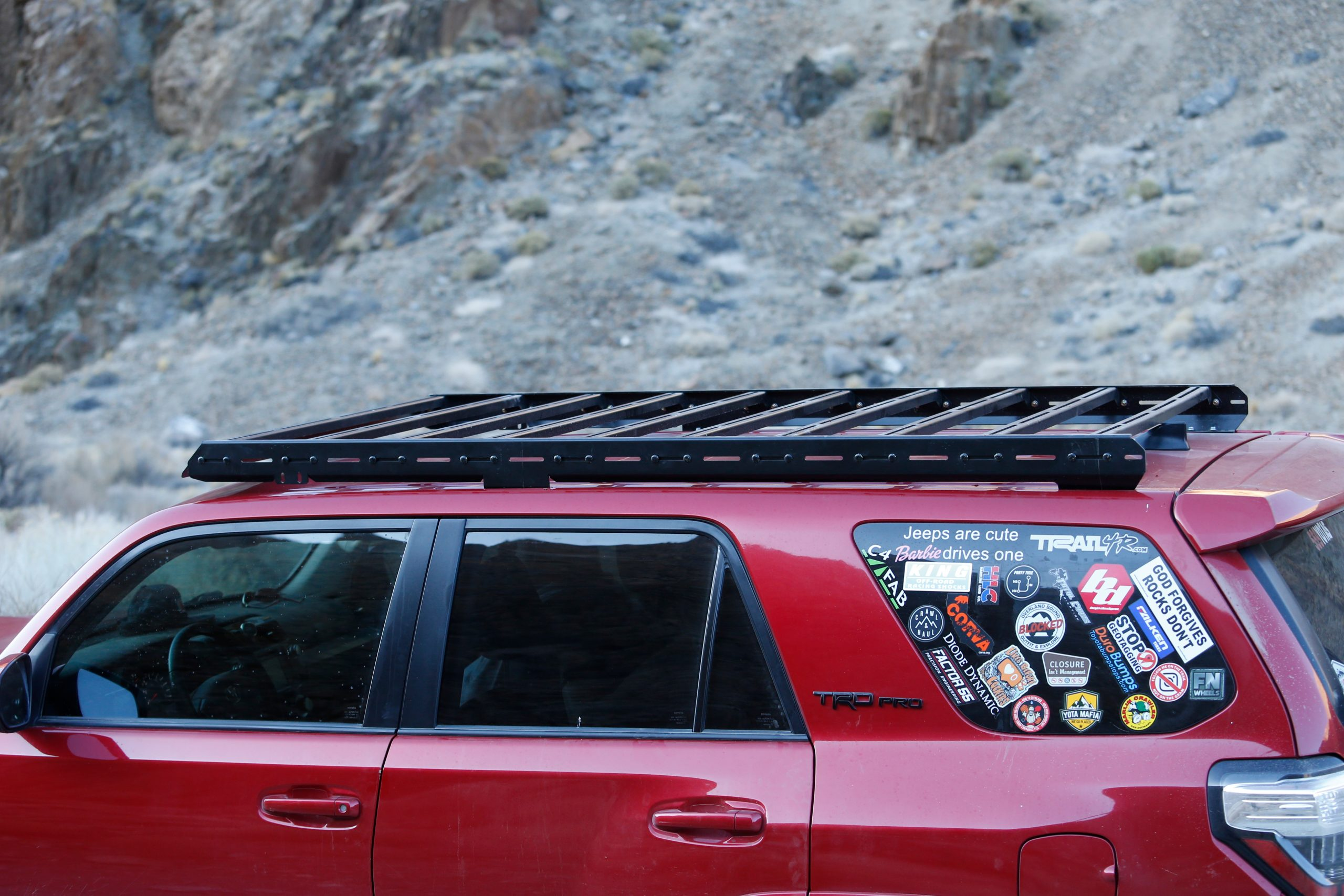 Lfd Full Roof Rack Steel Review And Install On 5th Gen 4runner