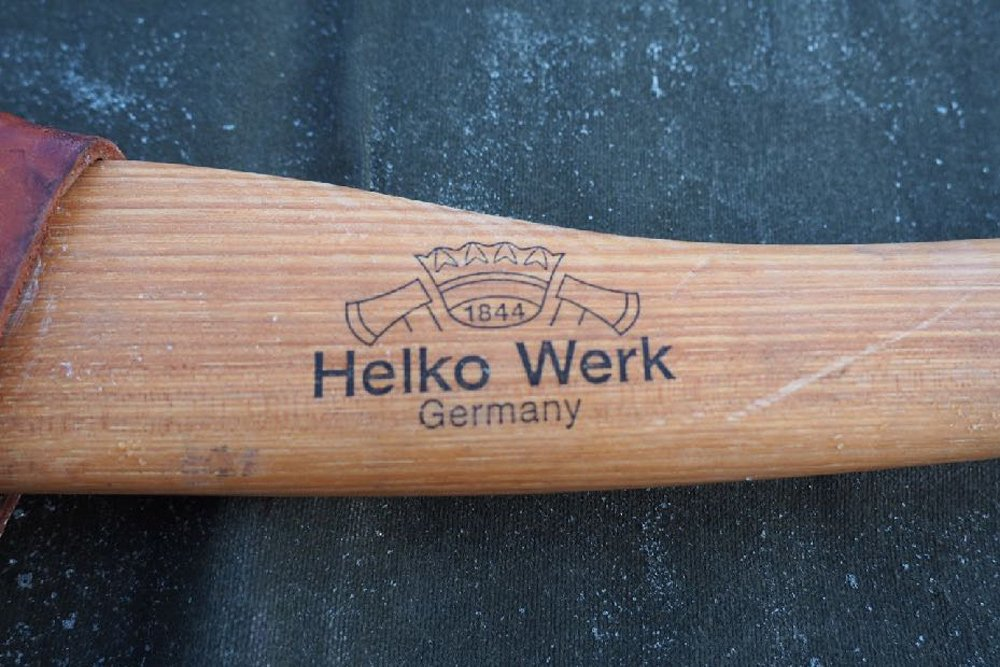 Top 3 Types Of Ax Options (Plus Recommended Products) For Overlanding in the 5th Gen 4Runner: Option 3. Wood-Handled Axes Hand-Crafted Helk Werk's Wood-Handled Axes