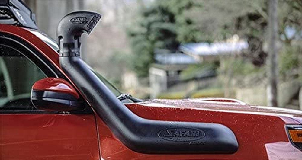 Snorkels, Do They Actually Increase Fuel Efficiency or HP Performance? The Pros + Cons of Installing a Snorkel On Your 4Runner: 1st Stage of Filtration: ARB 2010+ 4Runner Safari Snorkel Kit