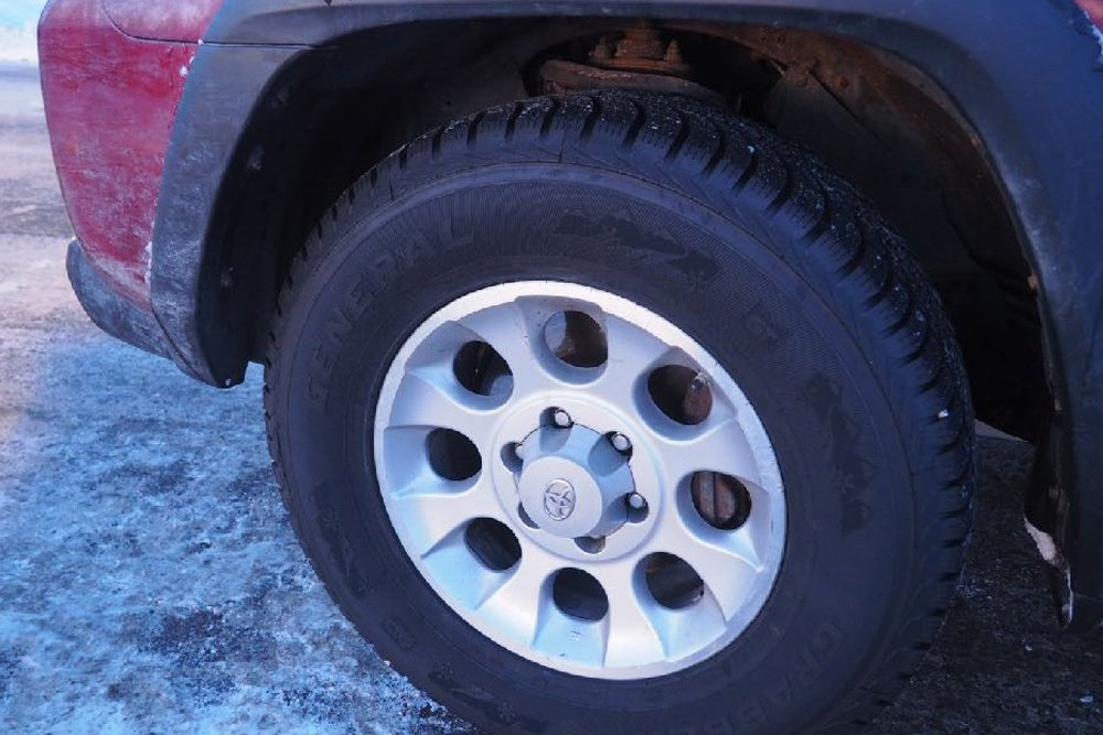 Winter Soldier: Living with a 5th Gen 4Runner in Extreme Cold: Winter Tires
