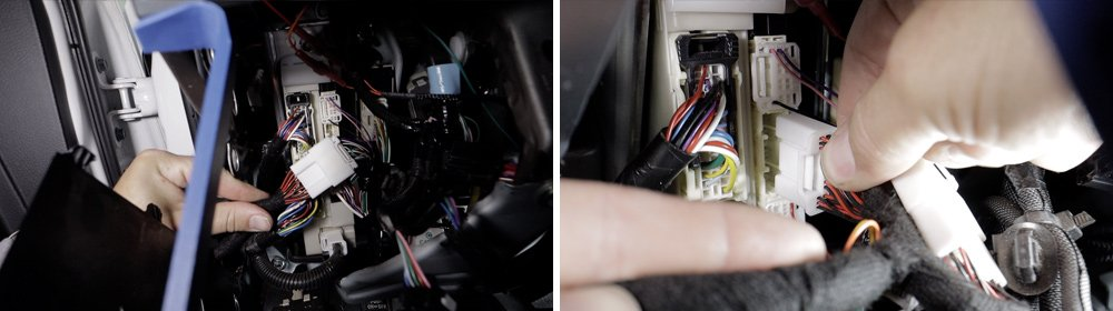 12V Solutions Remote Start Install and Review For the 5th Gen 4Runner: Step 2D. Plug BCM Connector into 12V T-Harness