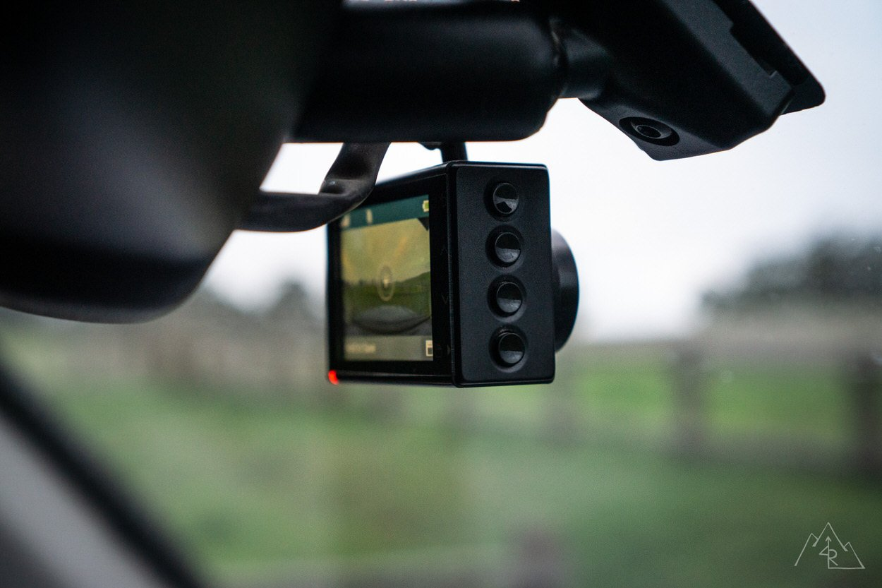 Garmin Dash Cam 66w Review - Side View