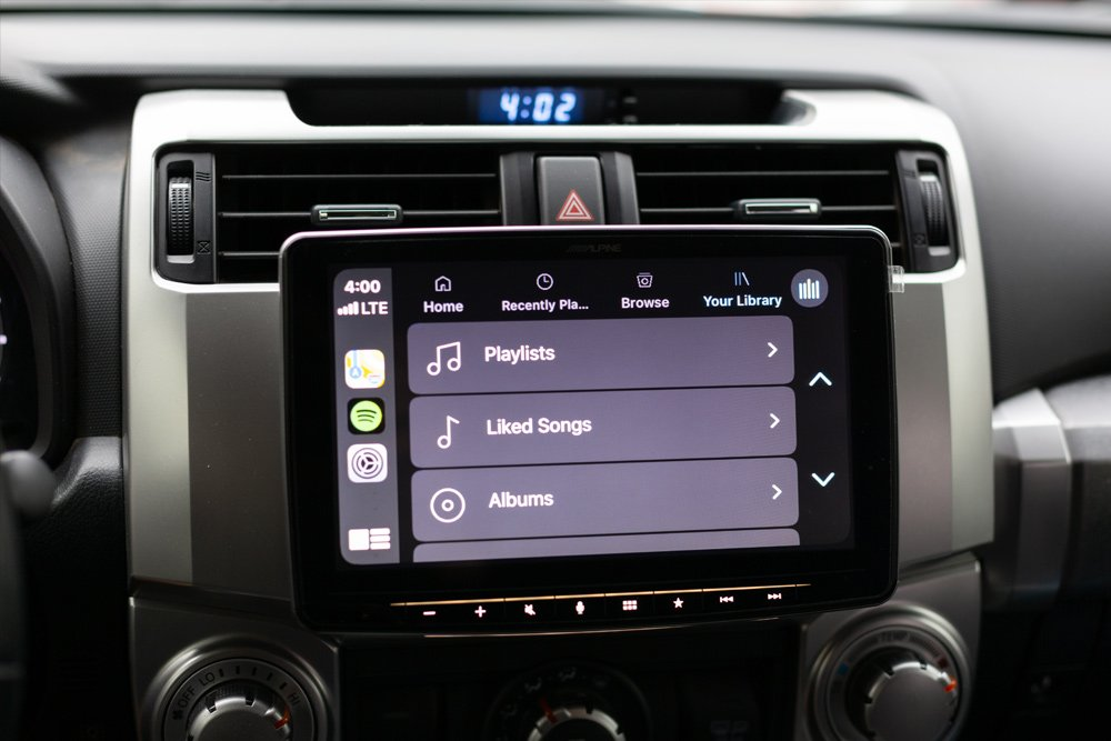 Alpine Halo9 iLX-F309FRN Step-By-Step Install and Review For the 5th Gen 4Runner: User Interface