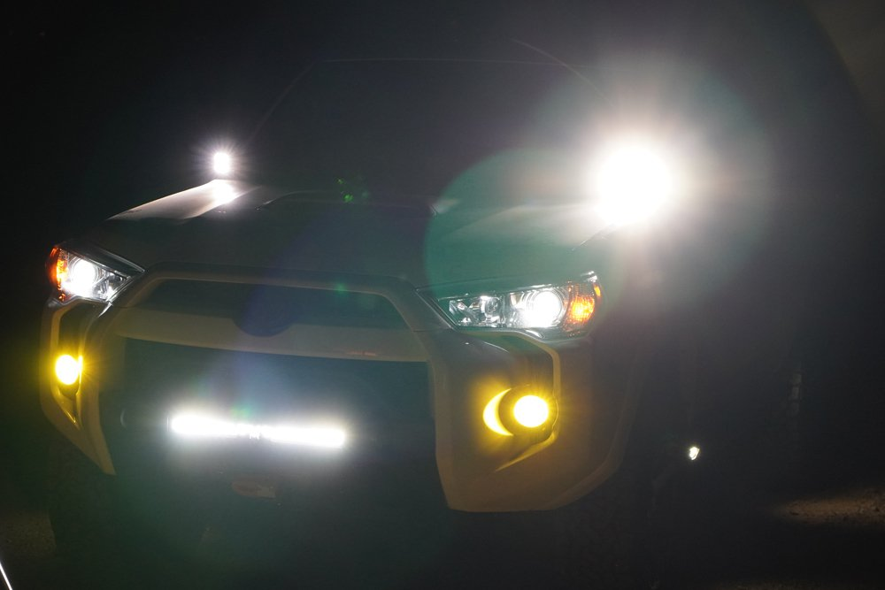 GTR Ultra 2 LED High Beam Step-By-Step Install and Review For the 5th Gen 4Runner