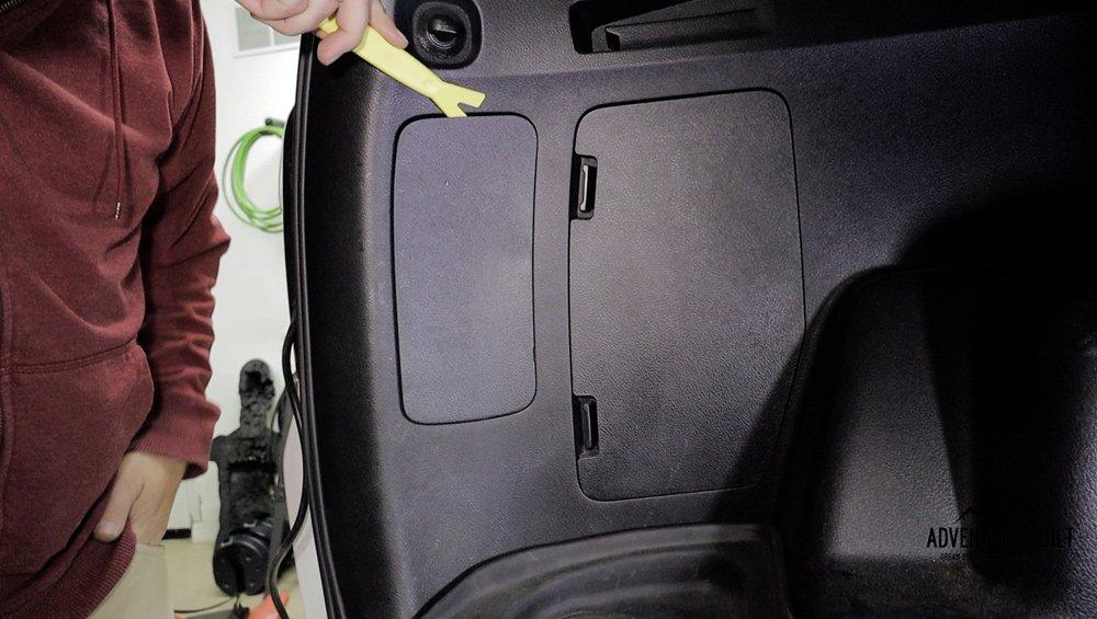 Headlight Revolution Level 3 GTR LED Headlight + Reverse Lights Install and Review for the 5th Gen 4Runner: Step 1. Remove Rear Light Panel