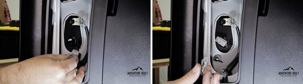 Headlight Revolution Level 3 GTR LED Headlight + Reverse Lights Install and Review for the 5th Gen 4Runner: Step 6. Remove Lower Reverse Bulb