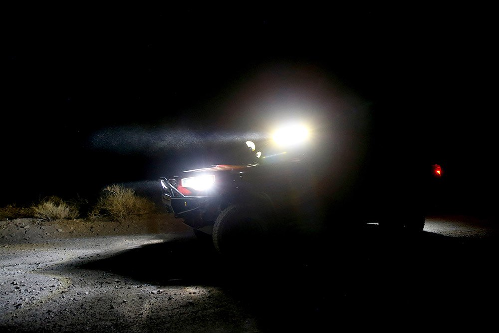 """Diode Dynamics 42"""" Amber and White Light Bar"""