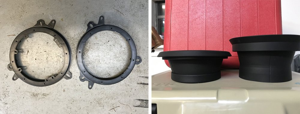 Crutchfield Focal Integration (2-Way) Speaker Upgrade Step-By-Step Install For the 5th Gen 4Runner: Step 1. Remove Brackets for Factory Speakers