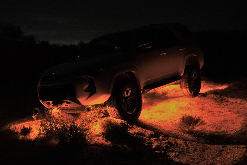 Extreme LED RGB (Bluetooth-Controlled) Rock Light Kit Step-By-Step Install For the 5th Gen 4Runner: Why RGB?