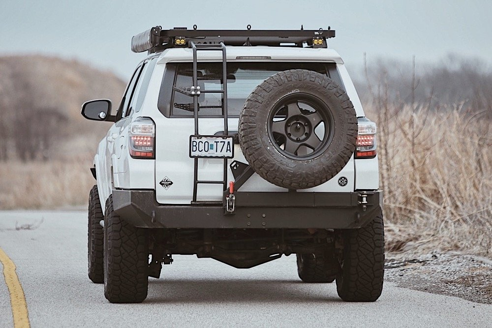 Coastal Offroad Low Profile Rear Bumper Review & Install For the 5th Gen 4Runner
