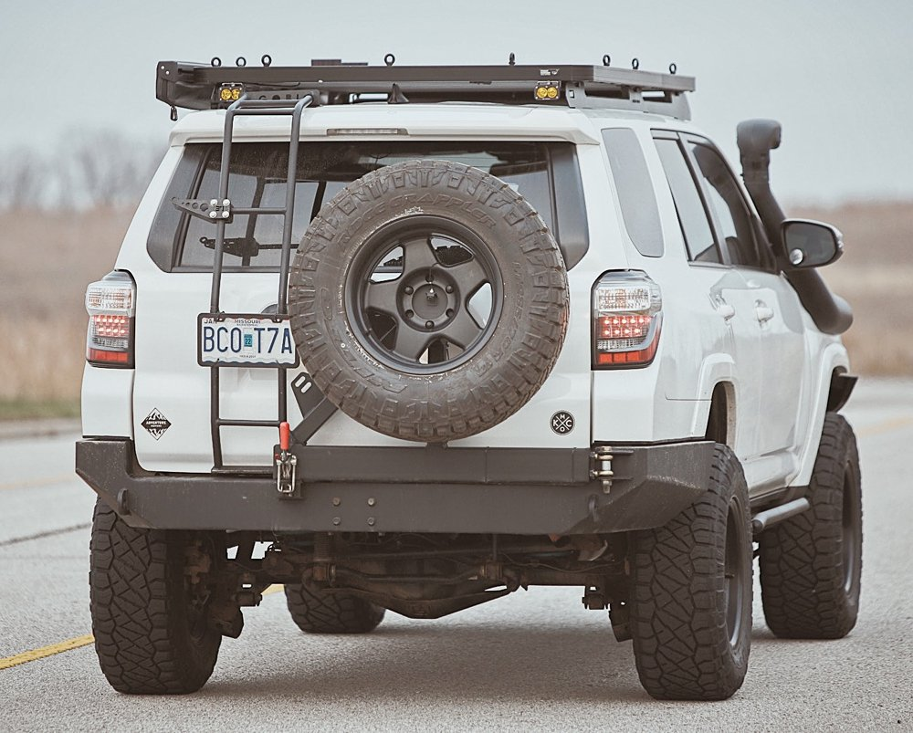 Coastal Offroad Low Profile Rear Bumper Review & Install For the 5th Gen 4Runner: The Low Profile Rear Plate Bumper Kit