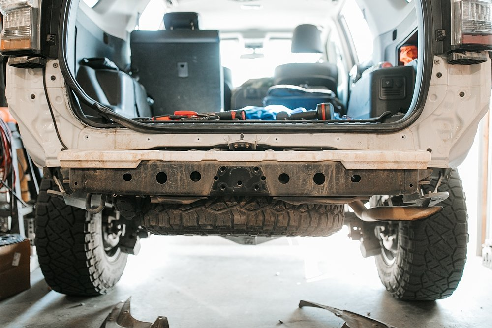 Coastal Offroad Low Profile Rear Bumper Review & Install For the 5th Gen 4Runner: Remove Your Stock Bumper