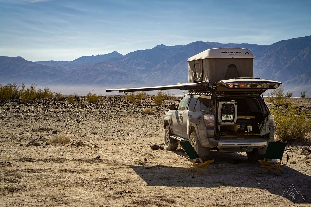 Awning with No Poles on 4Runner