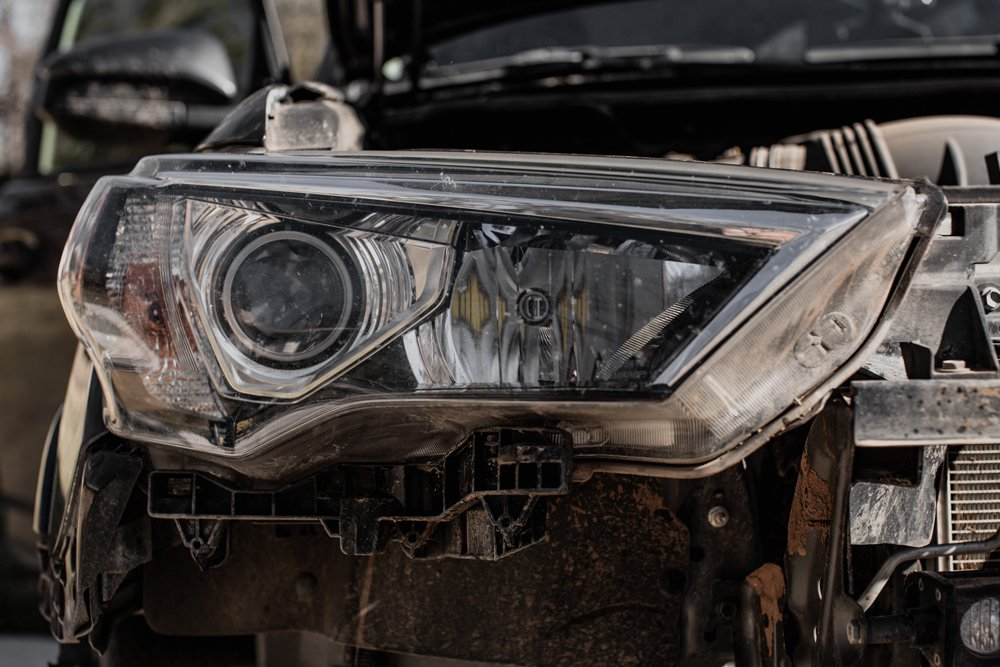 Morimoto XB LED Headlights DIY Step-By-Step Install For the 5th Gen 4Runner: Step 7. Remove Headlight Housing