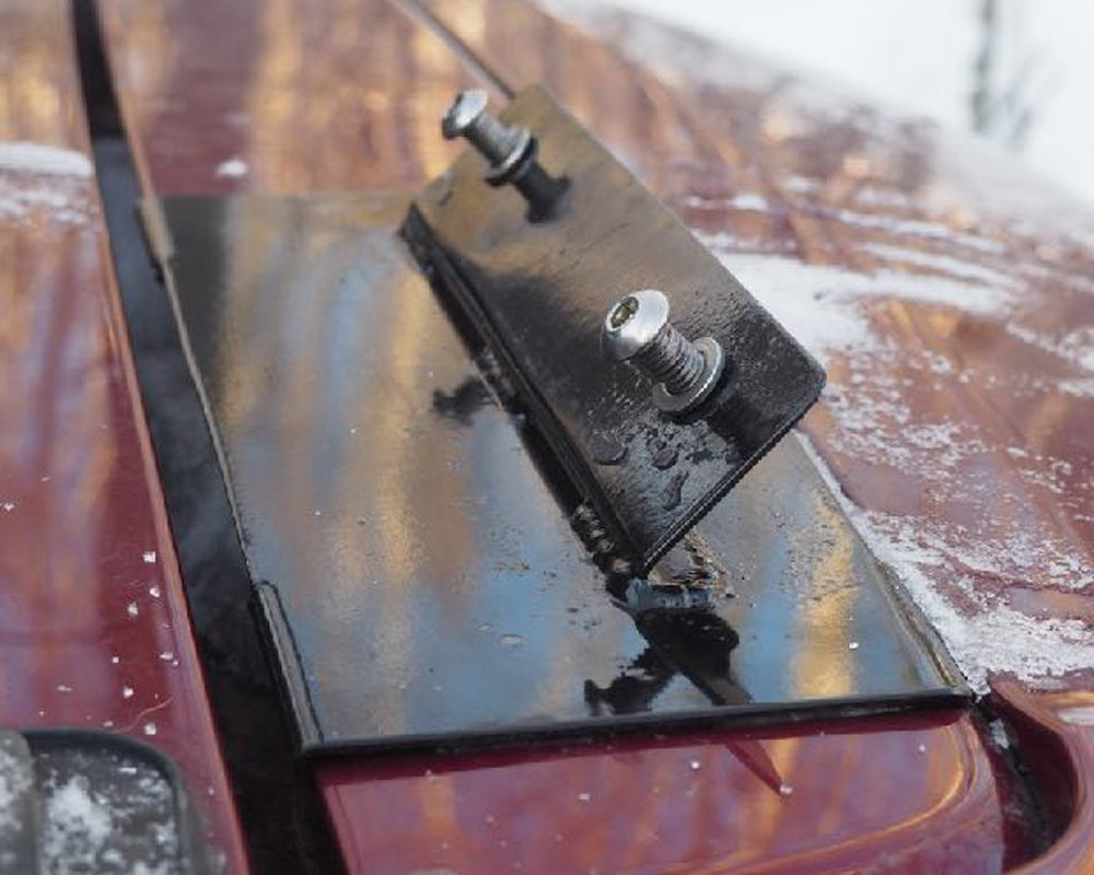 NashFabCo Ladder Review & Step-By-Step Install For the 5th Gen 4Runner: Step 1. Prepare Mounting Surface