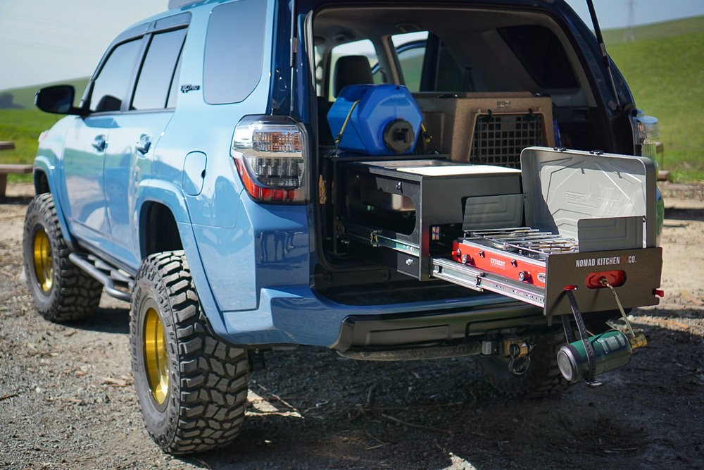 A Slide-Out Kitchen System for the 5th Gen 4Runner